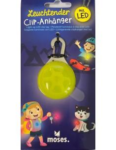 Leuchtender Clip-Anhänger...