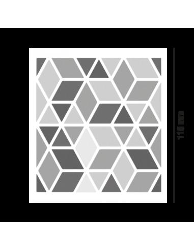 Reflektierende Stickers Shapes -Diamonds