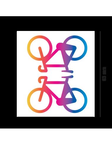 Reflektierende Sticker Bicycles