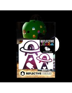 Reflektierende Sticker Ufo...