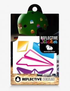 Reflektierende Sticker...