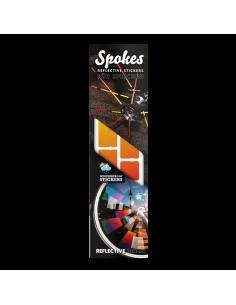 Reflektierende Stickers Spokes