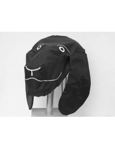 Sattelhund schwarz