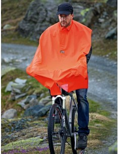 Klassischer Regenschutz mit Kapuze von Rukka
