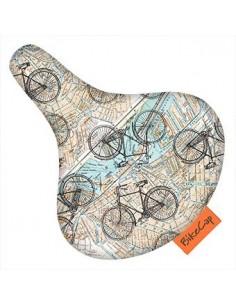 Bike Cap protège de selle *on the road*