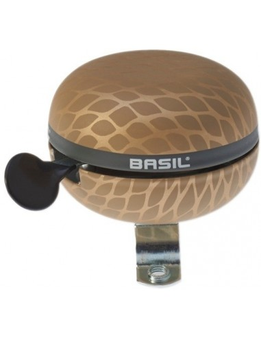 Basil Ding-Dong Glocke schwarz metallic