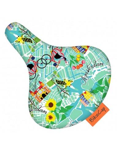 Bike Cap Sattelüberzug *get lost in amsterdam*