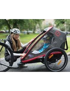 Transport d'enfants et de marchandises à vélo