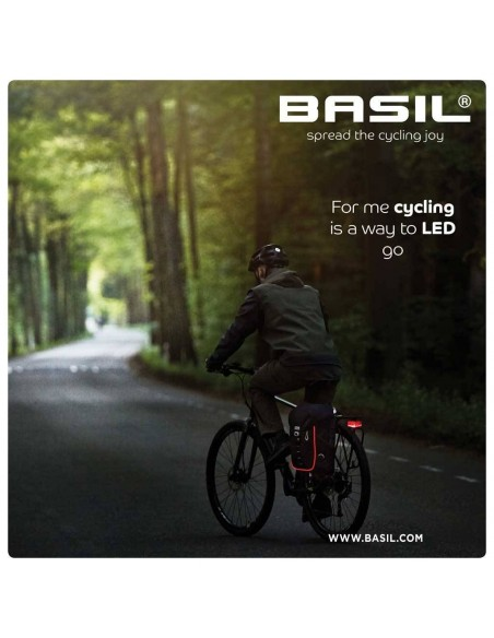 Basil Miles Daypack *Nordlicht*- Fahrradrucksack