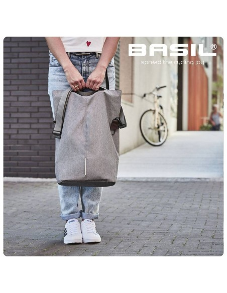 Basil *City-Shopper* grey melee