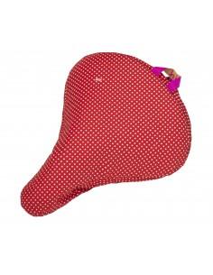 Liix Sattelüberzug *Polka dots red*