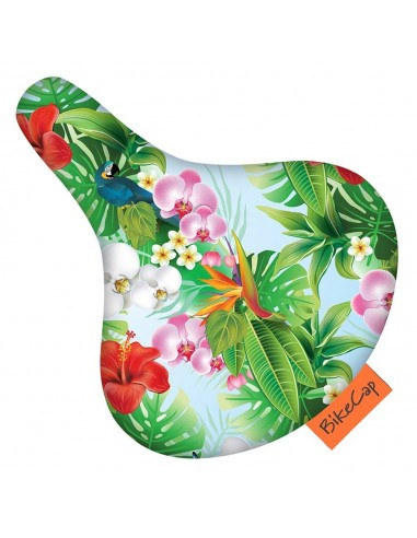 Bike Cap Sattelüberzug *Tropical Flower*